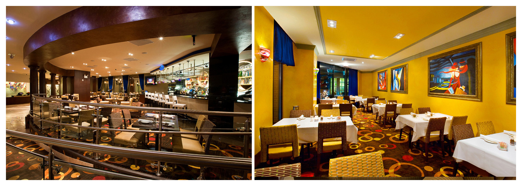 Hospitality and restaurant Interior Design Photography